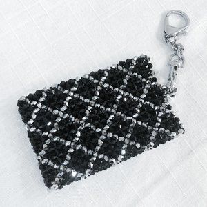 Accessories - Crystal Card Holder on Keychain